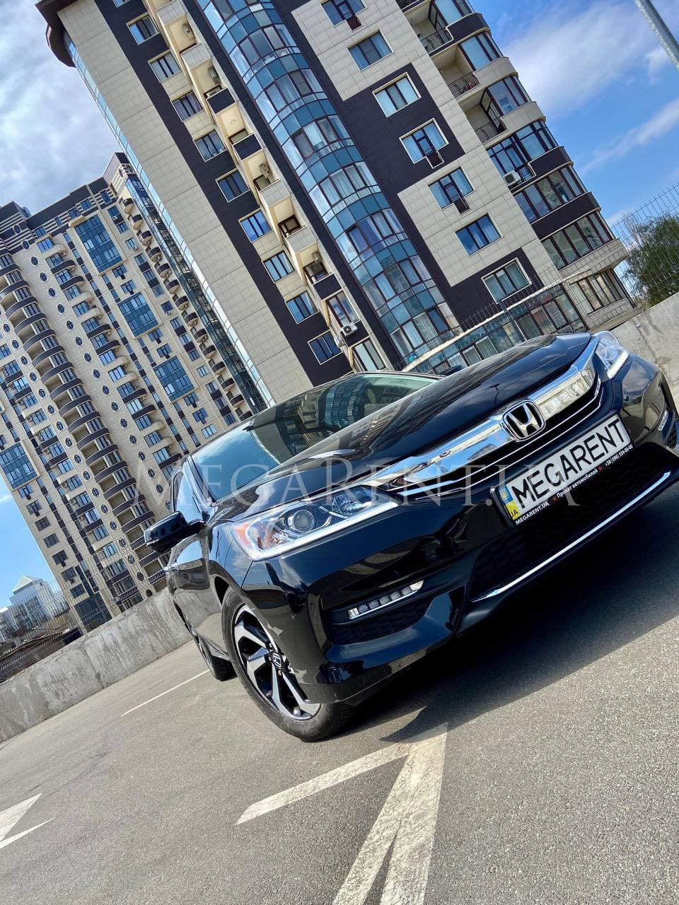 Прокат авто Honda Accord 2017 в Киеве - фото 2