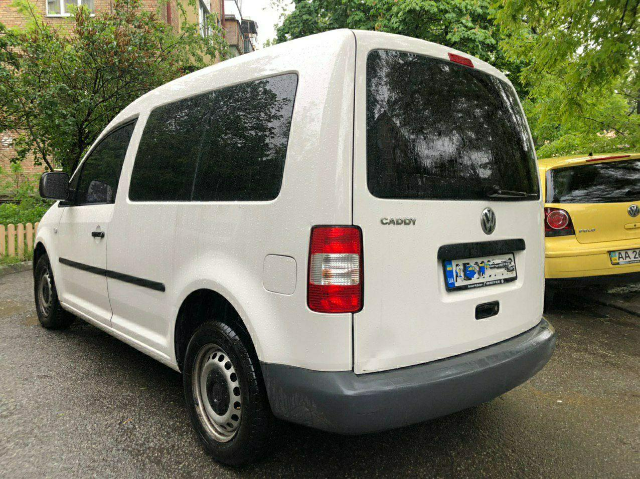 Прокат авто Volkswagen Caddy в Киеве - фото 6