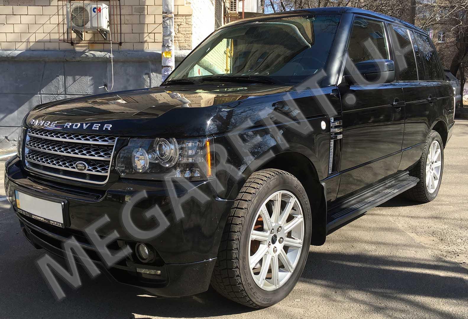rent a car land rover range rover vogue in kyiv rent. Black Bedroom Furniture Sets. Home Design Ideas