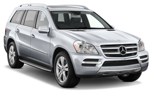 Rent a car Mercedes GL-class Diesel 2010 in Kyiv - Megarent