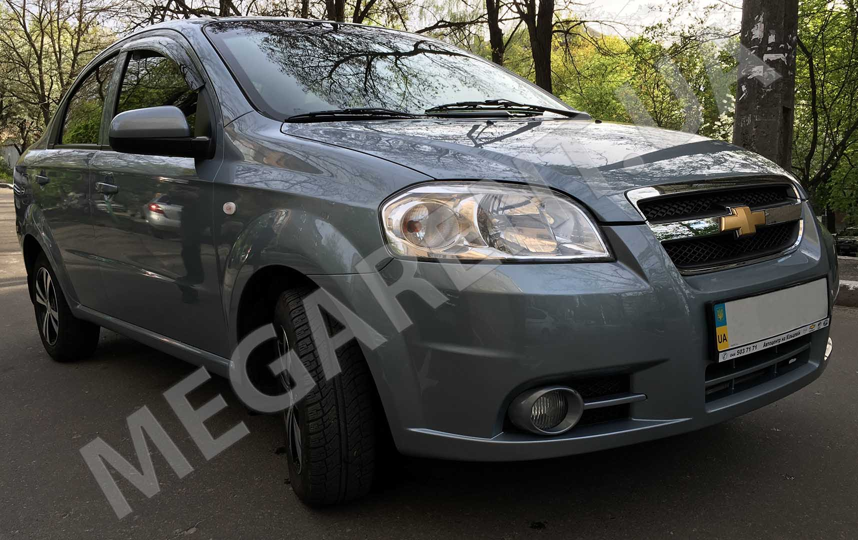 Rent a car Chevrolet Aveo 2012 in Kiev - Megarent