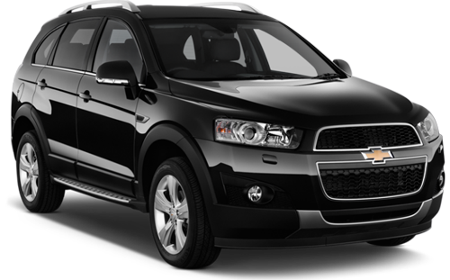 Rent a car Chevrolet Captiva in Kyiv - Megarent