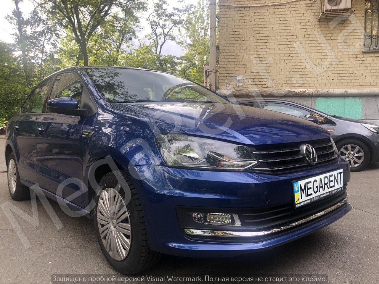 Прокат авто Volkswagen Polo sedan 2016 в Киеве - фото 1
