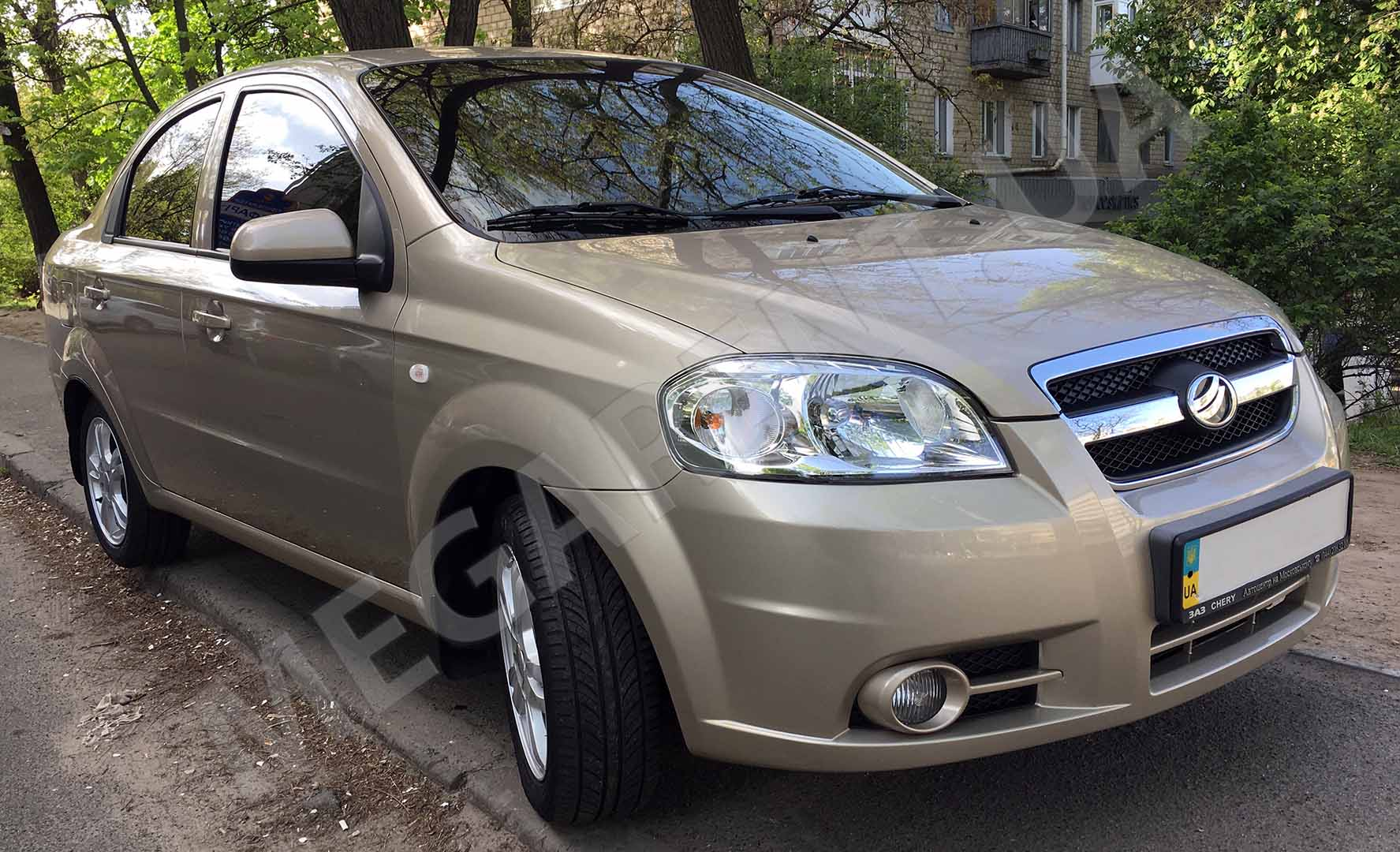 Rent a car Chevrolet Aveo (Zaz Vida) 2013 in Kyiv - Megarent