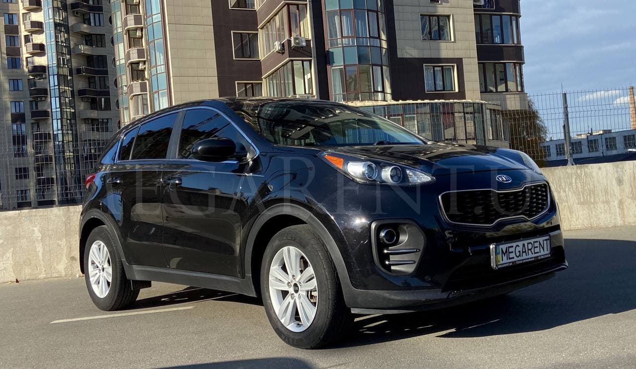 Rent a car KIA SPORTAGE 2017 in Kyiv - Megarent