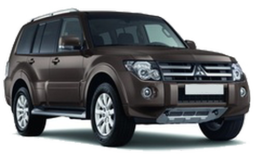 Rent a car Mitsubishi Pajero Wagon 2014 in Kyiv - Megarent