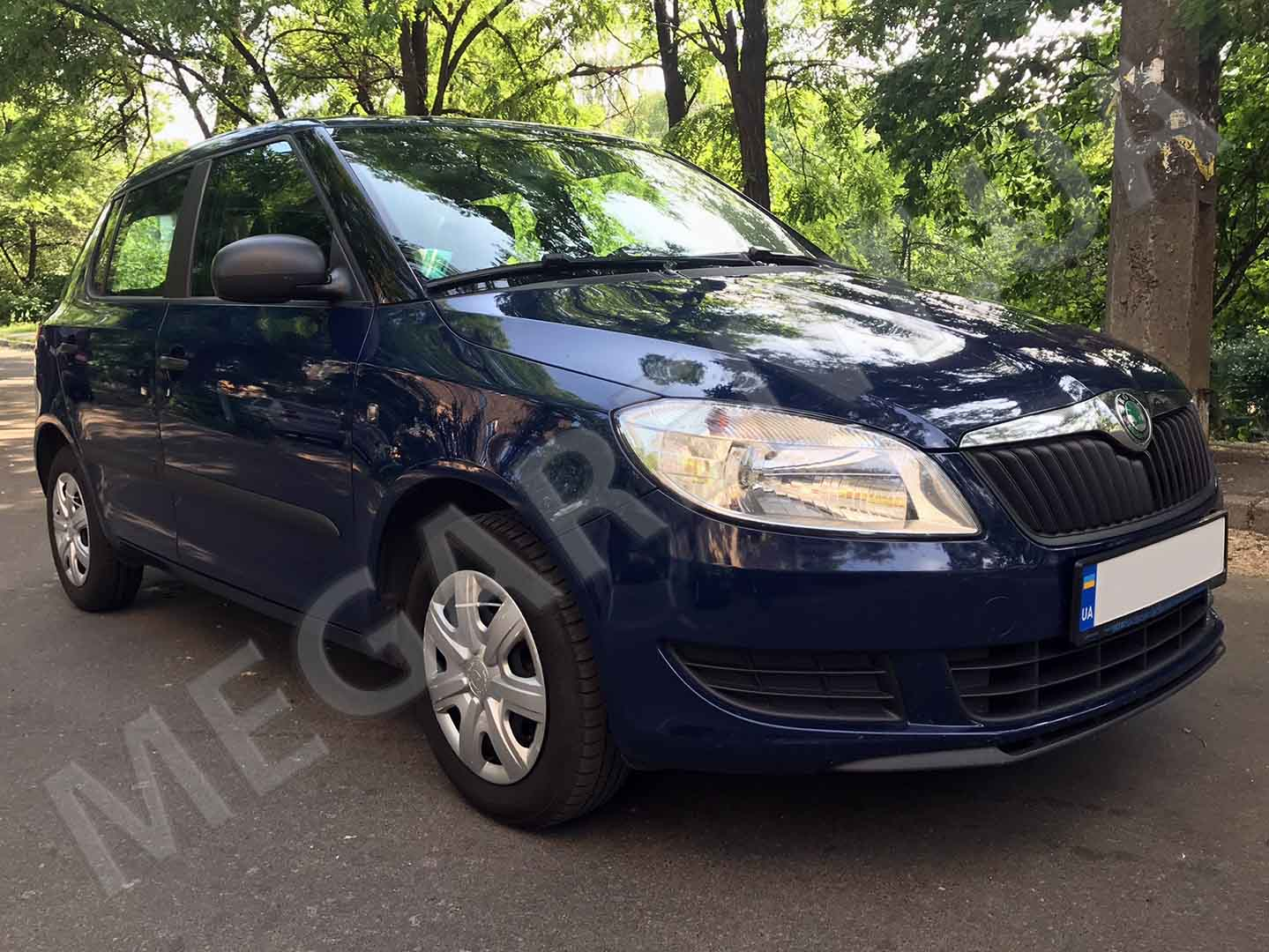 Rent a car Skoda Fabia 2014 in Kyiv - Megarent