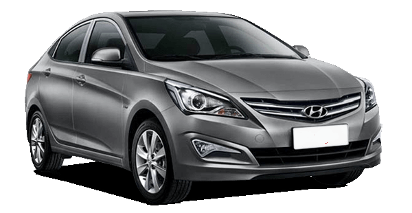 Rent a car HYUNDAI SOLARIS (ACCENT) 2017 in Kyiv - Megarent