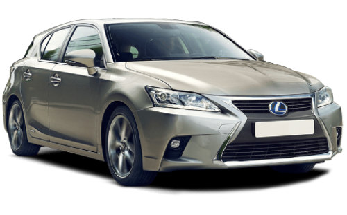 Rent a car Lexus CT200h Hybrid in Kyiv - Megarent