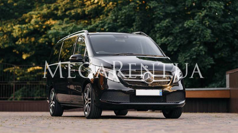 Rent a car Mercedes-Benz Vito (v-class) in Kyiv - Megarent