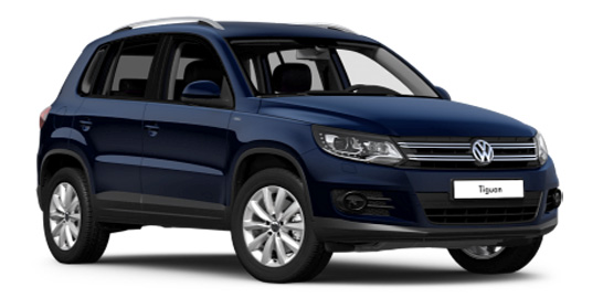 Rent a car Volkswagen Tiguan 2014 in Kyiv - Megarent