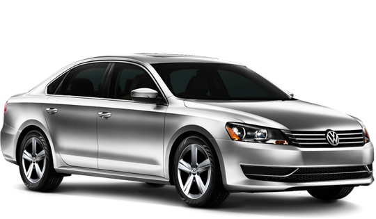 Rent a car Volkswagen Passat (B7) 2015 in Kyiv - Megarent