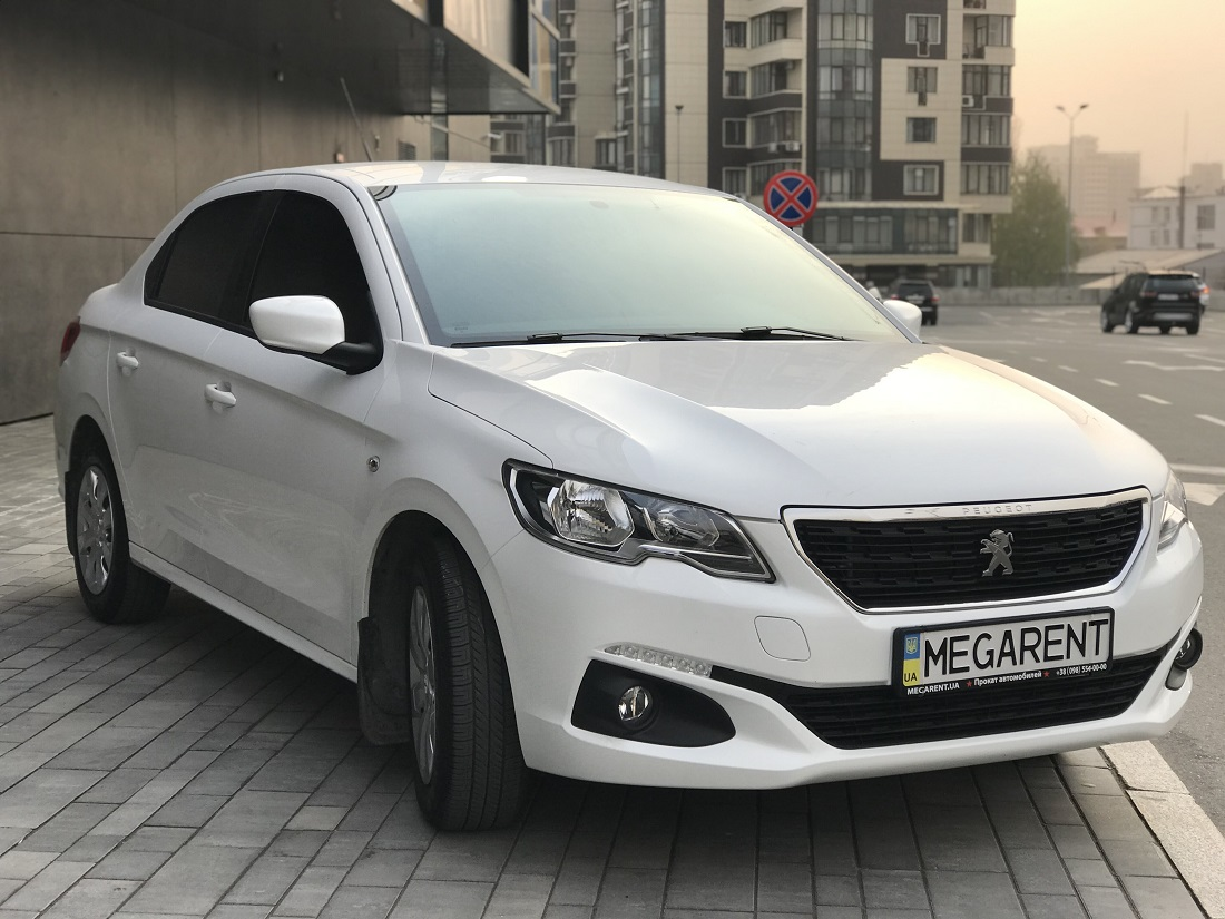 Rent a car Peugeot 301 - 2018 in Kyiv - Megarent