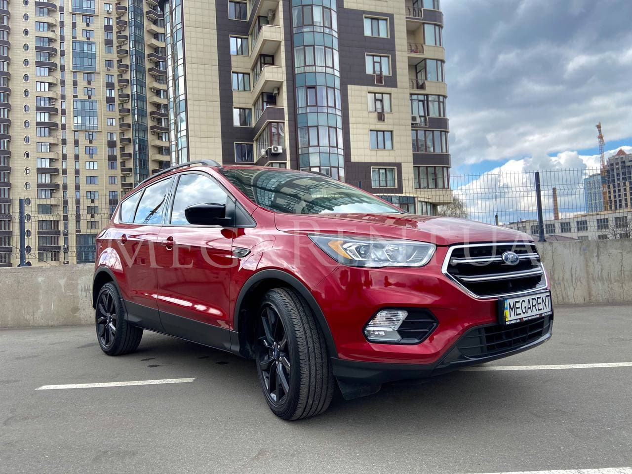 Rent a car Ford Kuga (Escape) 2015 in Kyiv - Megarent