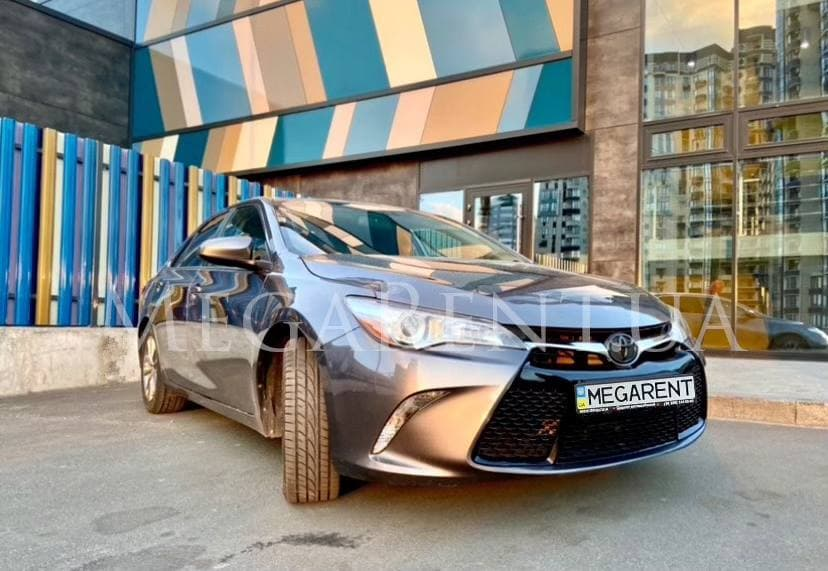 Rent a car Toyota Camry 2015 in Kyiv - Megarent
