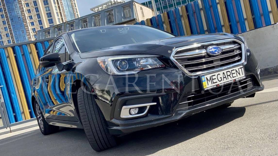 Rent a car Subaru Legacy 2015 in Kyiv - Megarent