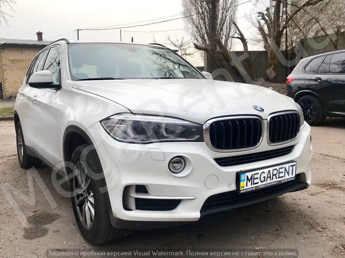 Rent a car BMW X5 in Kyiv - Megarent