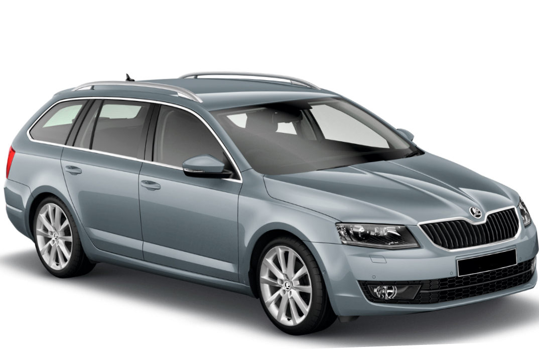 Rent a car Skoda Octavia A7 Combi auto in Kyiv - Megarent