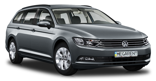 Rent a car Volkswagen Passat (B8) Diesel 2015 in Kyiv - Megarent
