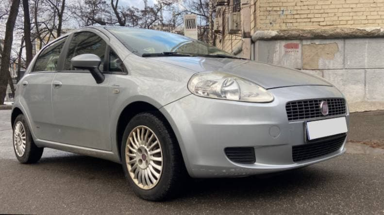 Rent a car Fiat Punto MultiAir 2014 in Kyiv - Megarent