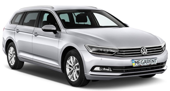 Rent a car Volkswagen Passat B8 Diesel 2015 in Kyiv - Megarent