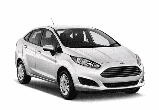 Rent a car Ford Fiesta 2016 sedan auto in Kyiv - Megarent