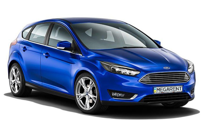Rent a car Ford Focus EcoBoost in Kyiv - Megarent