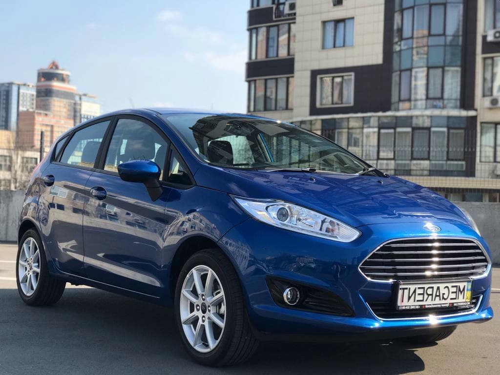 Rent a car FORD FIESTA auto in Kyiv - Megarent