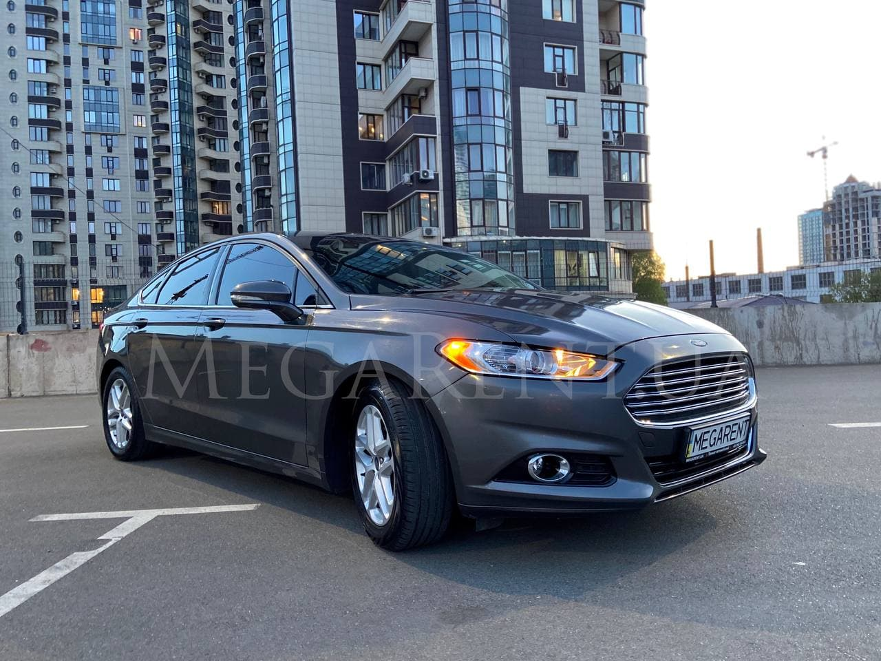 Rent a car FORD FUSION (MONDEO) in Kyiv - Megarent