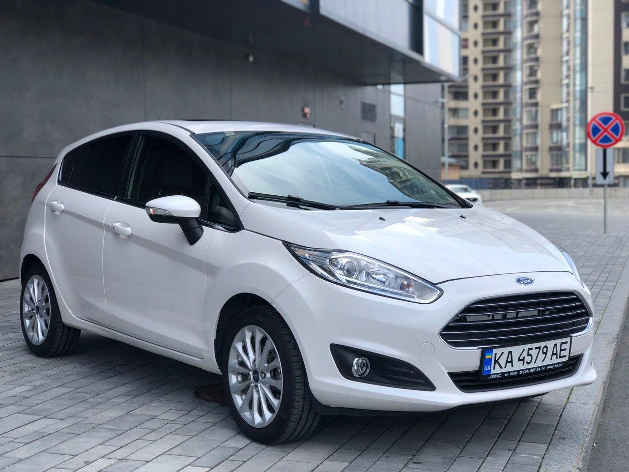 Car rental FORD FIESTA 2017 Titanium auto in Kyiv - photo 1