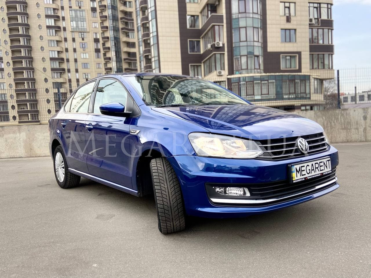 Rent a car Volkswagen POLO in Kyiv - Megarent