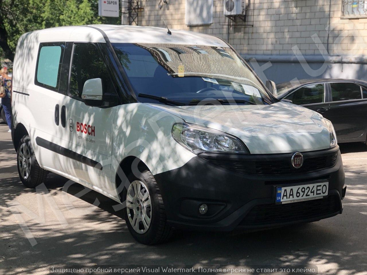 Rent a car Fiat DOBLO in Kyiv - Megarent