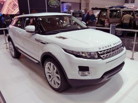 Rent a car Range Rover Evoque 2016 in Kyiv - Megarent