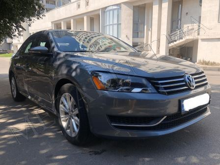 Rent a car Volkswagen Passat B7 in Kyiv - Megarent