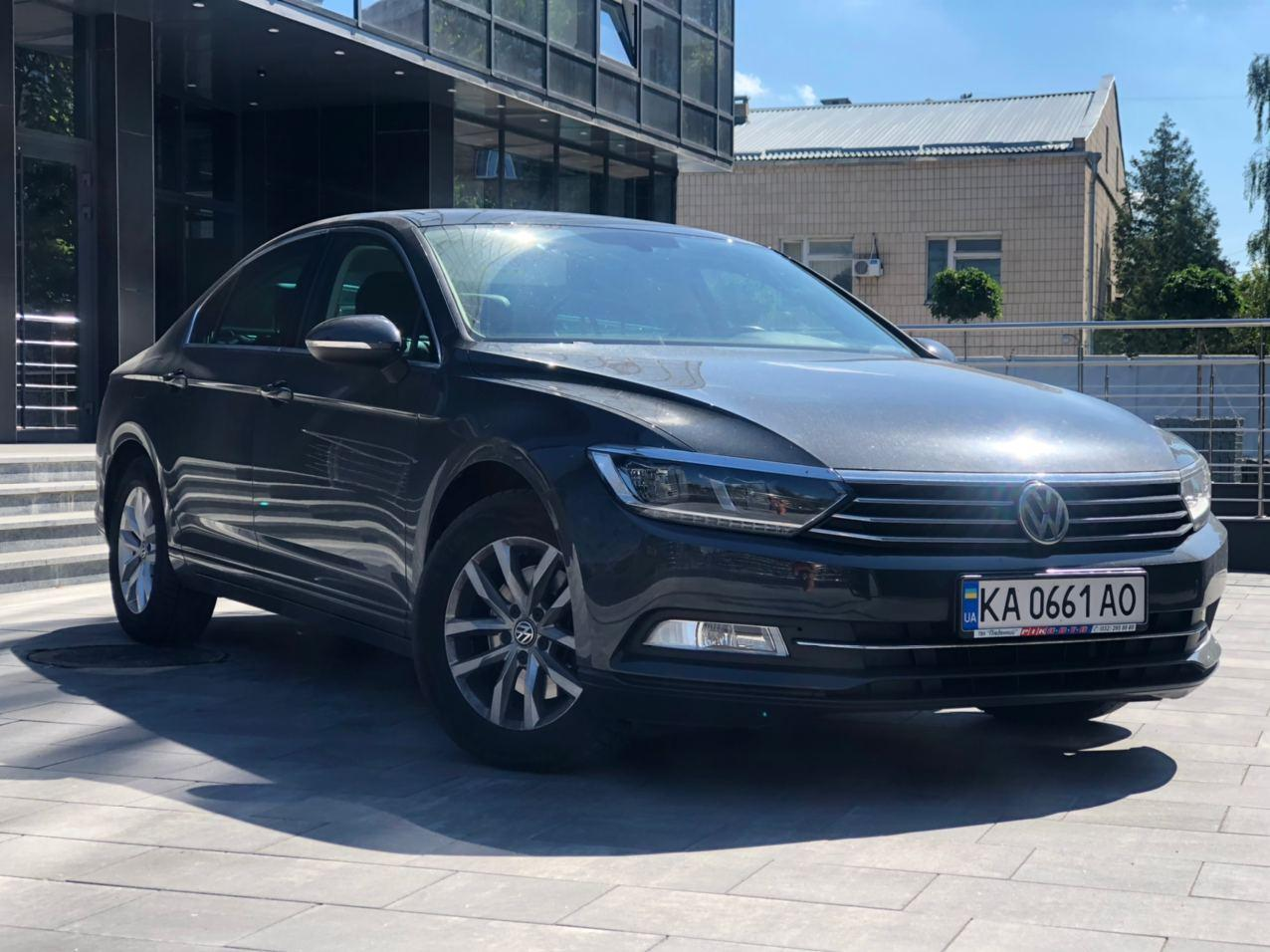Rent a car Volkswagen Passat B8 in Kyiv - Megarent