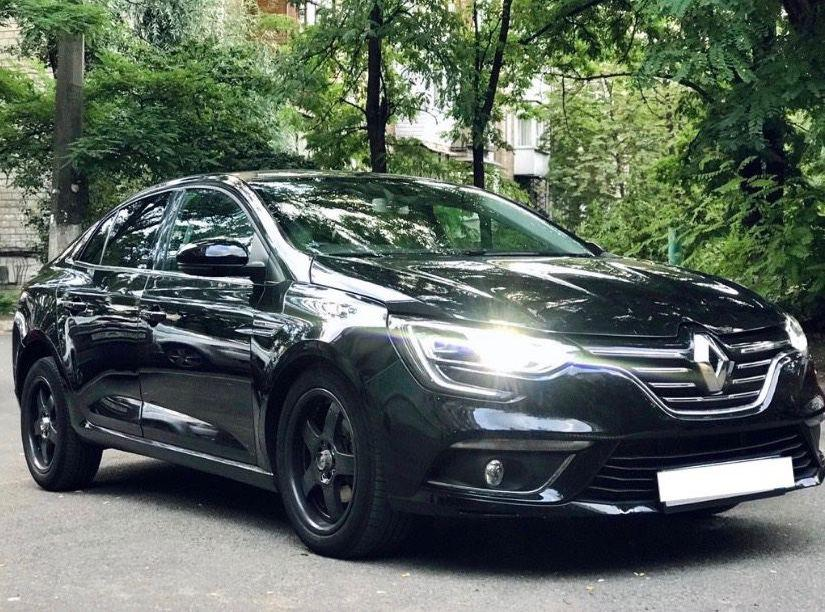 Rent a car Renault Megane 2017 Diesel in Kyiv - Megarent