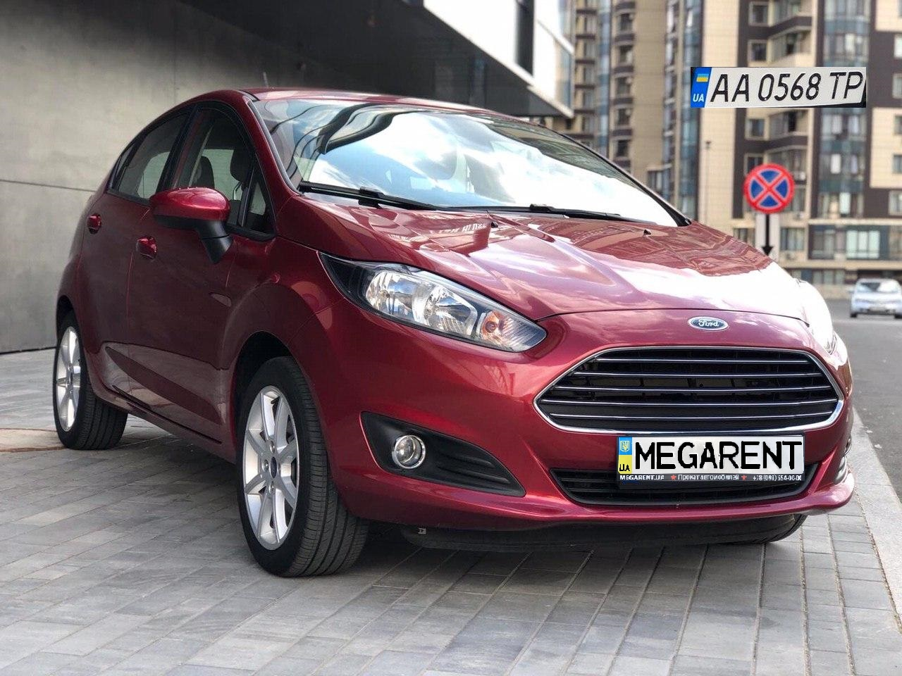 Rent a car Ford Fiesta 2014 in Kyiv - Megarent