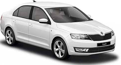 Rent a car Skoda Rapid 2015 in Kyiv - Megarent