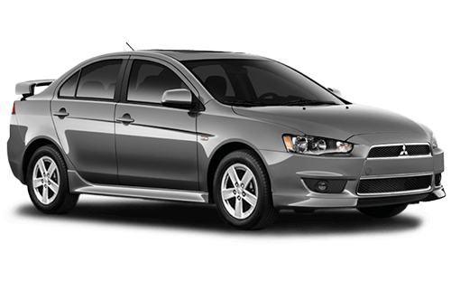 Rent a car Mitsubishi Lancer X in Kyiv - Megarent