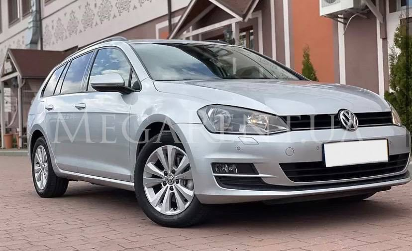 Rent a car Volkswagen Golf VII 2016 in Kyiv - Megarent