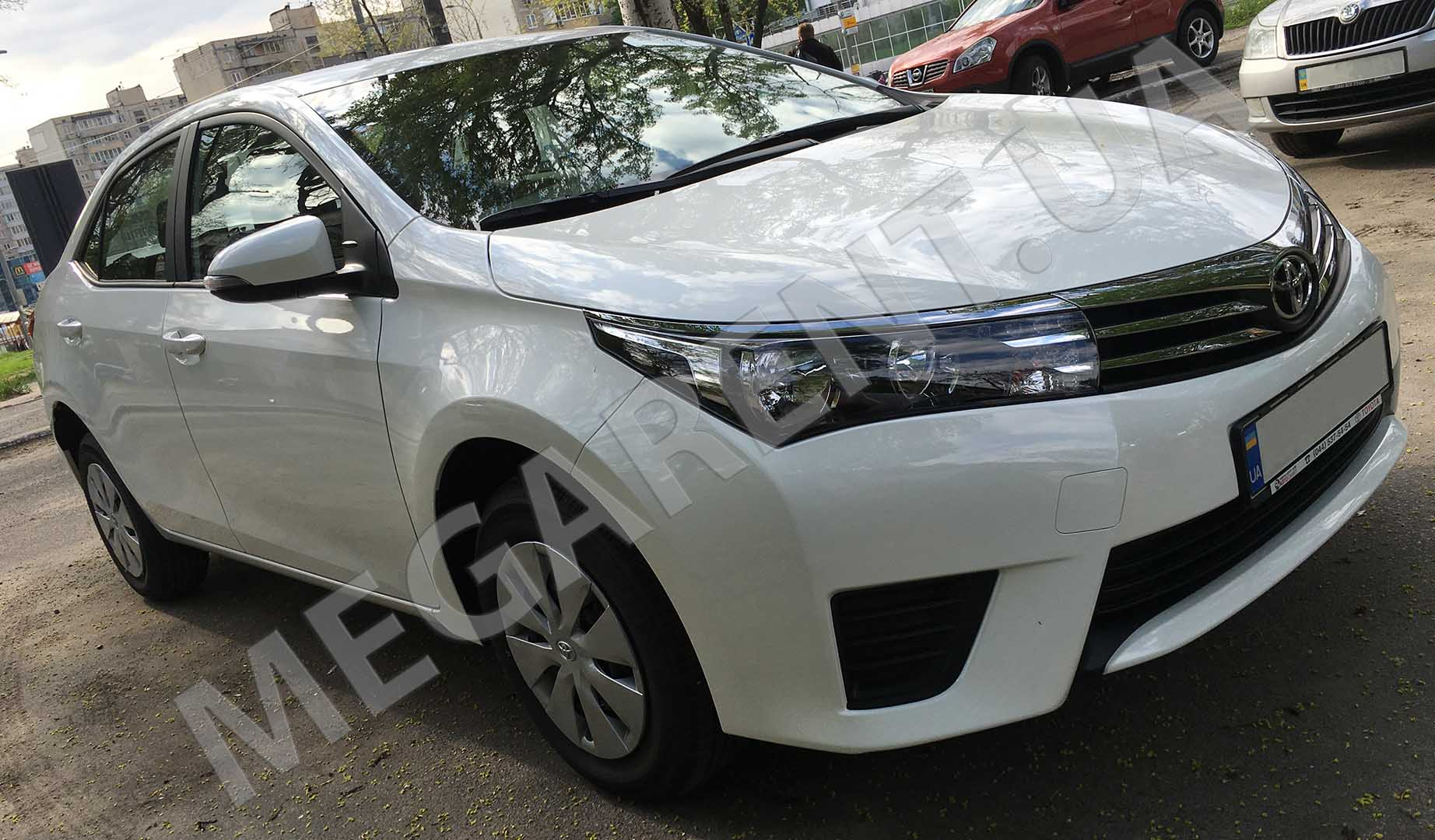 Car rental Toyota Corolla 2016 in Kyiv - photo 3