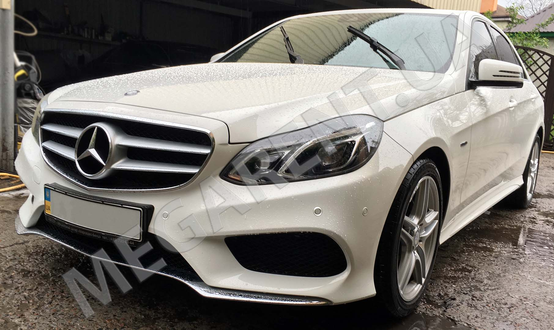 Car rental Mercedes E-class W212 AMG 2015 in Kyiv - photo 2