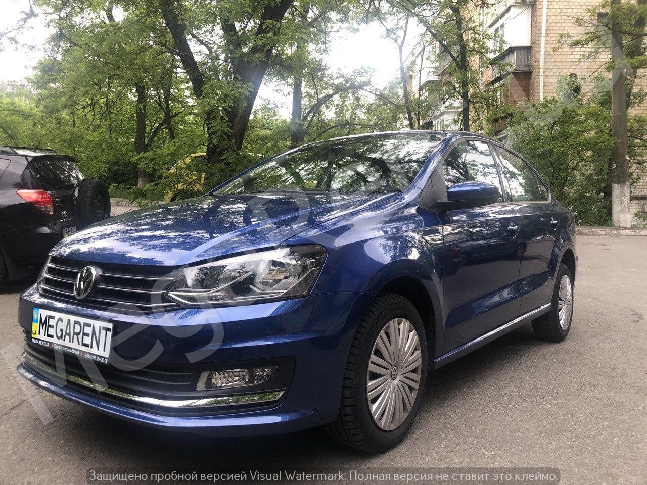 Прокат авто Volkswagen Polo sedan 2016 в Киеве - фото 3