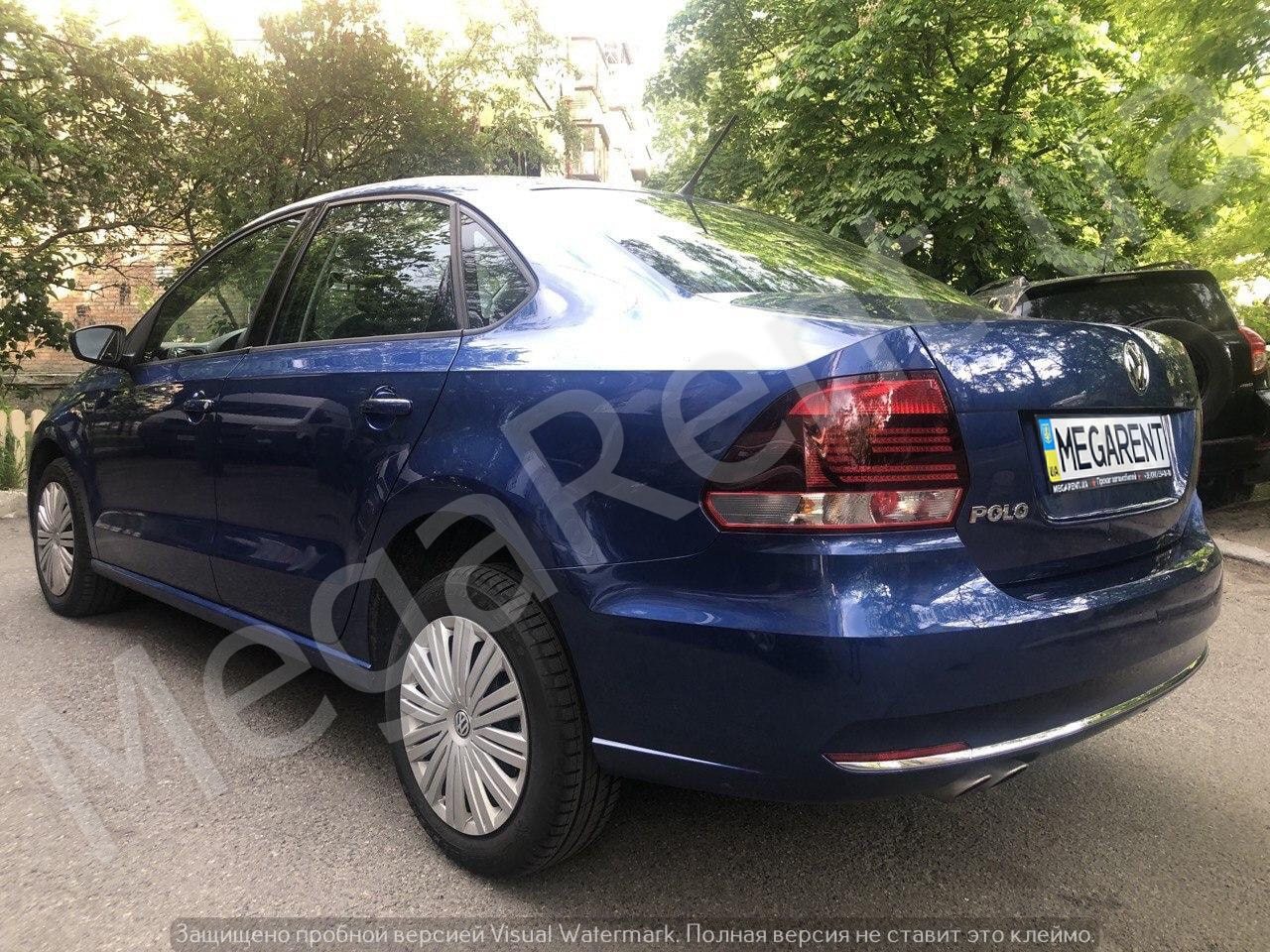 Car rental Volkswagen Polo sedan 2016 in Kyiv - photo 4
