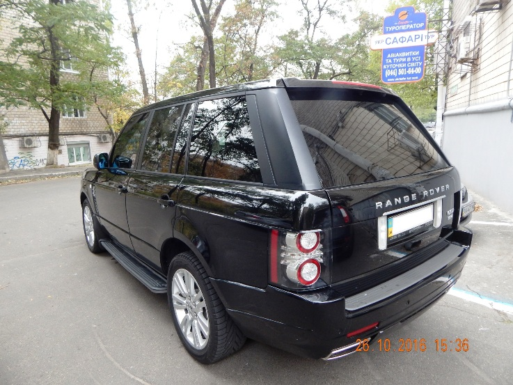 Car rental RANGE ROVER AUTOBIOGRAPHY 2010 in Kyiv - photo 7