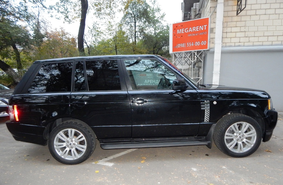Car rental RANGE ROVER AUTOBIOGRAPHY 2010 in Kyiv - photo 8