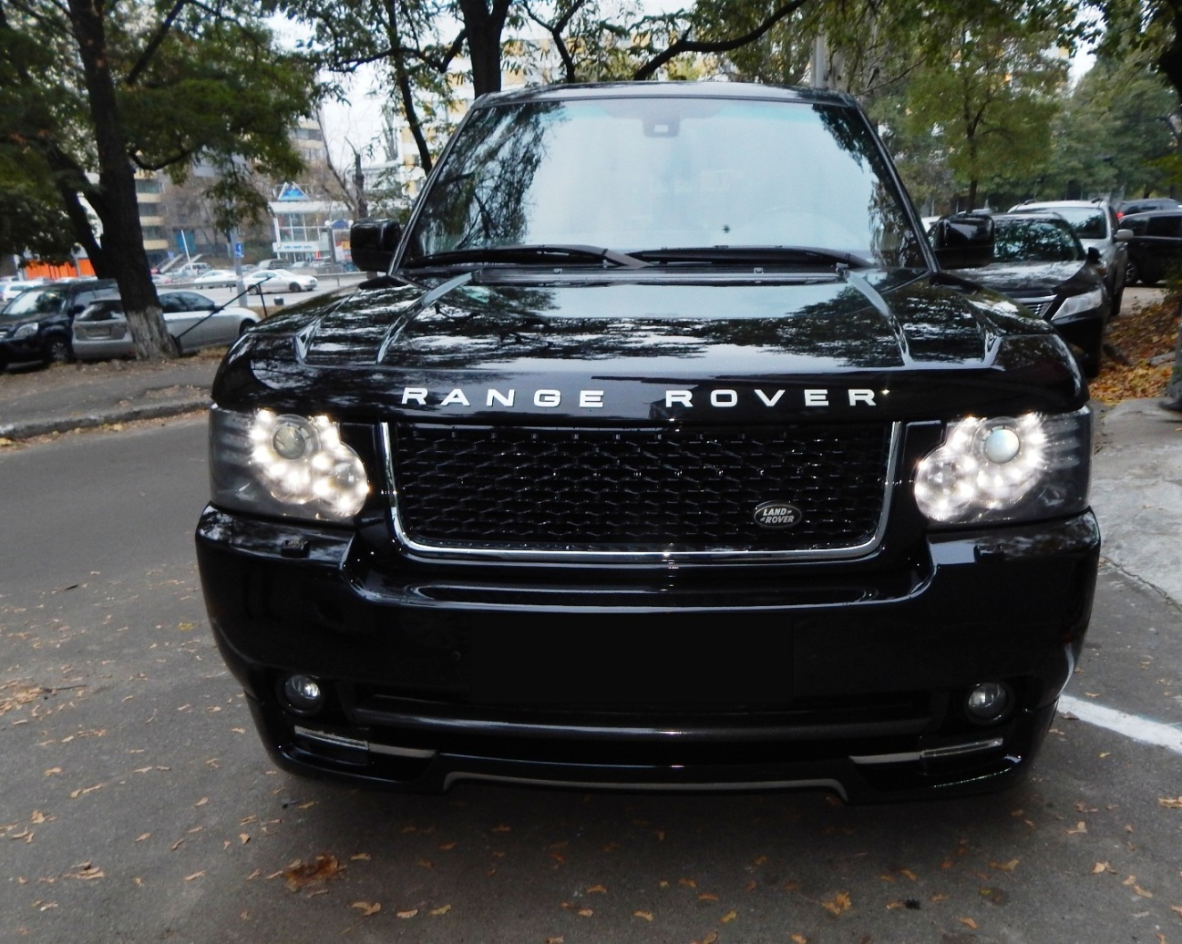 Car rental RANGE ROVER AUTOBIOGRAPHY 2010 in Kyiv - photo 9