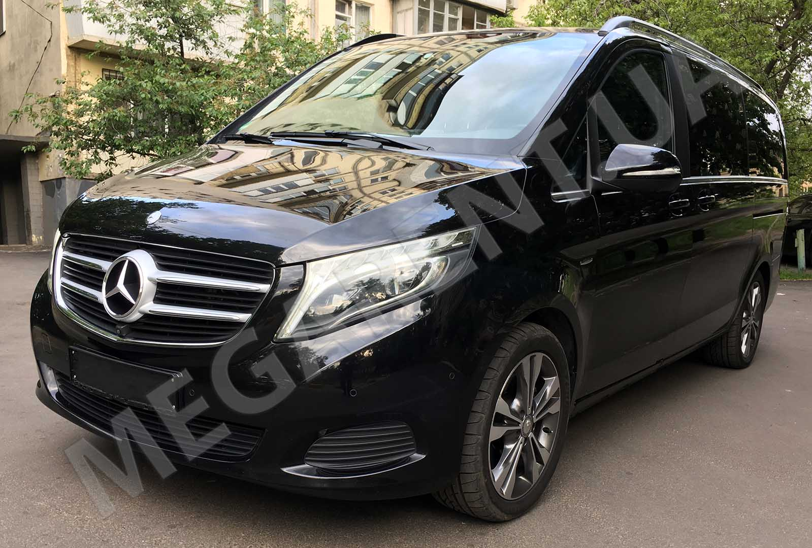 Car rental Mercedes V-class 2016 in Kiev - photo 2