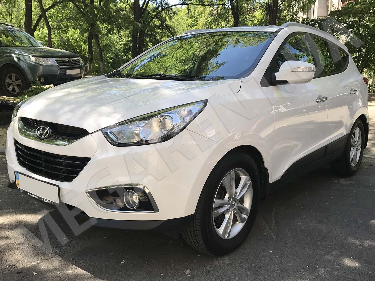 Car rental Hyundai ix35 in Kiev - photo 2
