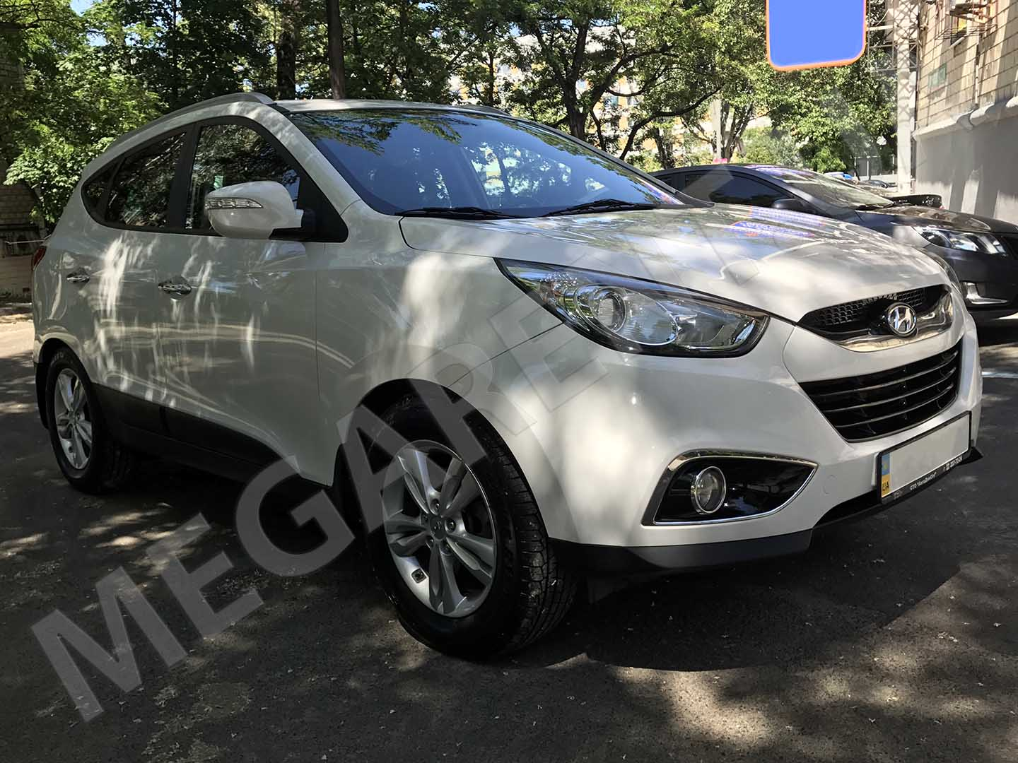 Car rental Hyundai ix35 in Kiev - photo 3